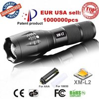 Wholesale G700 E17 CREE XM L2 Lumens cree led Torch Zoomable cree LED Flashlight Torch light For xAAA or x18650