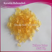 Wholesale Hot fusion Keratin Nail Tip GLue FOR Pre Bonded HAIR EXTENSIONS