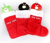 applique christmas stockings - Handmade applique Christmas supplies non woven Christmas stockings cm