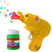 toy bubble gun - Factory outlets child blowing bubbles toy elephant pull the trigger a of bubble bubble gun