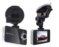 automobile video recorder - 2 quot HD Car DVR Vehicle Dash Camera Video Recorder Dash Cam G sensor K6000 Black Box automobile data tachograph