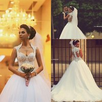 beaded ball gown wedding dresses - 2015 Sweetheart Saudi Arabic Backless Winter Wedding Dresses Zipper Back Appliques Beaded Bodice Sheer Ball Gown Organza Bridal Gowns