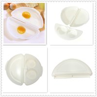 Wholesale New Arrivals Portable Simple Two Eggs Microwave Omelet Cooker Pan Microweavable Cooker Omelette Eggs Steamer Home Kitchen order lt no track