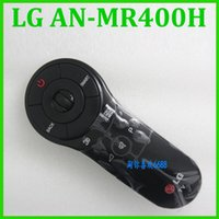Wholesale 100 original authentic Smart TV Magic Motion remote control AN MR400H update mr400 english button Remote Control for LG Smart TV Black