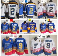 al best - Factory Outlet Best Quality C Patch Al Macinns Jersey St Louis Blues Shayne Corson Jersey Cheap CCM Blue Stitched Tony Twist Jer