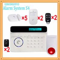 auto drive away - DHL Small flat burglar SMS notification gsm alarm kit driving burglar away system