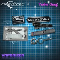 Wholesale 2015 new product Taylor gang e cigarette kit with four atomizer two oil tank dry herb vaporizer kits snoop dogg g pro made in shenzhen china