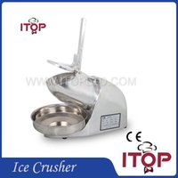 Wholesale High Efficiency Electric Ice Crusher Stainless Steel Ice Cream Maker Fast Delivery Household and Commercial Use