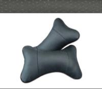 Wholesale New Genuine leather headrest neck pillow Car Auto Seat cover Head Neck Rest Cushion Headrest Pillow M12418