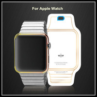 Wholesale Full Body Screen Protector For Apple Watch Front And Back Cover Film Iwatch Screen Film For Apple Watch mm mm with retail box