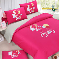 best luxury bedding - 3 Beige and red a better li comforter bedding set cotton luxury solid and simple style twin full queen king size best selling set