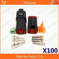 truck and engine - 100 sets Deutsch DT06 S and DT04 P Pin Engine waterproof electrical connector for car motorcycle truck boats etc