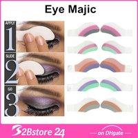 Wholesale 55 Types BB ACCESSORIES INSTANT EYE SHADOW EASY TRANSFER MAJIC MAGIC Pairs box