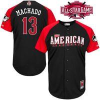 baltimore american - 2015 Baseball American League All Star Jerseys Baltimore Orioles Manny Machado Adam Jones Stitched Jersey