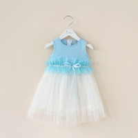 girls boutique clothes - 2015 children s clothing boutique girls candy vest mesh gauze skirt tulle high quality dresses F0516