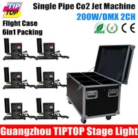 Wholesale Flight Case in1 Packing Single Nozzle Stage Co2 Jet Machine Column Jet Direction Switchable M M Jet Height DMX512 CH Control Maunal Way