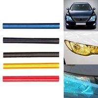 Wholesale 2015 Real Time limited Headlight Film Automobiles Car Styling cm Auto Car Light Headlight Taillight Tint Vinyl Film Sticker Sheet