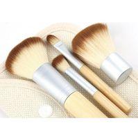 Wholesale 20 sets DHL set Bamboo Make up Brushes Kit Cosmetic Tools professional makeup brush set