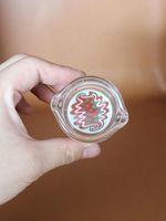 ashtray - New colorful cm men s pattern oil ring ashtray glass ashtray dish for Multiple uses