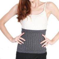 Wholesale Unisex Women Cashmere Fitness Waist Belt Warmer Wool Waist Support Belt Elastic Protector Lumbar Support For Waist ZA HBK036