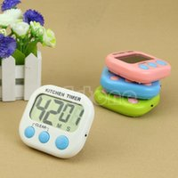 Wholesale Kitchen Large LCD Digital Cooking Timer Count Down Up Clock Loud Alarm Magnetic