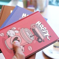 paper notebook - Cute notebook paper sheets thick Hard copybook School Diary notebook color paper Kawaii Notepad Office School Supplies