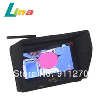 Wholesale Lilliput quot LCD FPV Aerial Photography FPV Wireless HD P Monitor HDMI AV Receiver GHZ Channel Aerophotography