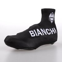 overshoes - Cycling Overshoes bianchi black Bicycle shoe covers mountain cycling shoe covers size M L XL