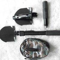 Wholesale outdoor camping spade a spade military spade essential multi function folding shovel shovel Four FAST SHIPPING