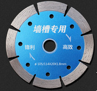 Wholesale Ceramic cutting tablets diamond saw concrete wall slot sheet cut pieces of marble wall tiles