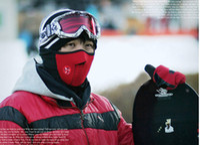 Wholesale Neoprene Neck Warm Half Face Mask Winter Veil Windproof For Sport Bike Bicycle Motorcycle Ski Snowboard Outdoor Mask Men Women DHL