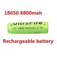 Wholesale 6X battery V mAh Li ion Rechargeable Battery for Flashlight Hot New v