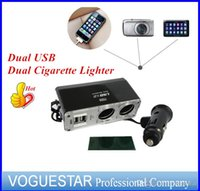 advance trucks - Car truck SUPER power Socket Splitter Dual USB Dual Cigarette Lighter ports advanced Extension r V V W ATP0051