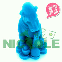 carved animals - new horse animal candle molds silicone soap mold molds for cakes cake decorating tools kitchen Clay mold Salt carving