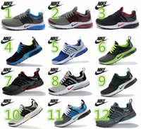 clay - Nike Air Presto Carving Lightweight Running Shoes Men Nike Retro Sports Athletic Sneakers Big Breathable Hole Mesh Running Shoes Eur