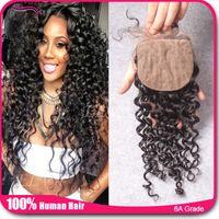 Cheap deep curly silk base Best deep curly closure