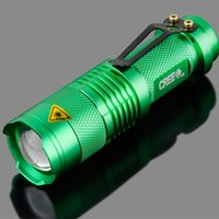 amplify light - ledPortable mini w Cree led battery flashlight torch Q5 adjustable focus amplify light bike lights for lanterna
