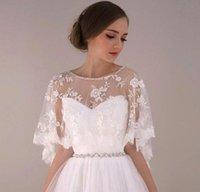 custom made jewelry - 2016 New Arabic Jewelry Cape With Beaded Crystal Bridal Accessories Wedding Dresses Wraps Shawls Bolero Shrug CPA373