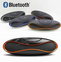 Wholesale QFX Wireless Bluetooth Speaker TF AUX USB FM Radio with Built in Mic Hands free Portable Mp3 Mini Subwoofer