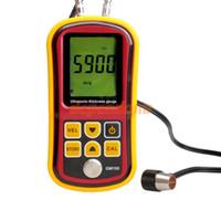 Wholesale Ultrasonic Thickness Meter Tester Gauge Velocity GM100 Digital Tester Metal