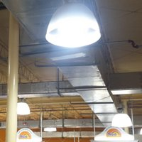 Wholesale DHL Freeshipping Best quality Best price w led pizza high bay light replace w w old lamp with UL CUL approved