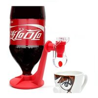 soda bottle - 2015 New Fizz Soda Dispenser Bottle Cola Drinking Water Machine Drink Tools Red Gadget Party Home Decorations