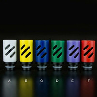 best packing tips - Best Adjustable air flow Wide Bore Drip Tips Plastic Drip Tip with Gift box packing for CE4 DCT RDA RBA mechanical mod Atomizer Tanks