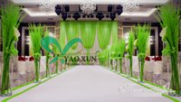 apple green curtains - New Design Wedding Backdrop Curtain With Apple Green Drape
