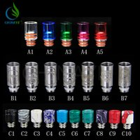 drip tips - 2015 new drip tip pyrex glass drip tip jade drip tip stainless steel drip tip Europe and America hot sale product