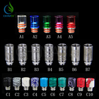 Wholesale 2016 new pyrex glass drip tip jade drip tip stainless steel drip tip Europe and America hot sale product