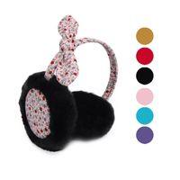 best earmuffs - Best seller Rabbit Ears Bowknot Girl Plush Earmuffs Earmuffs