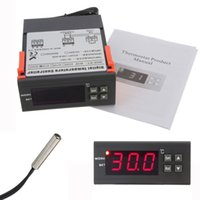 aquarium temp controller - 12V Aquarium Digital led Temperature Controller Temp w Sensor Thermostat Control