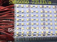 Cheap Wholesale-5050 led bar lights 72led meter DC12V led hard strip,Samsung chip,High brightness, long life,A large number of spot wholesale.
