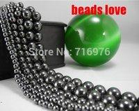 Wholesale Natural Stone Black Hematite Shamballa Beads MM quot Per Strand Pick Size